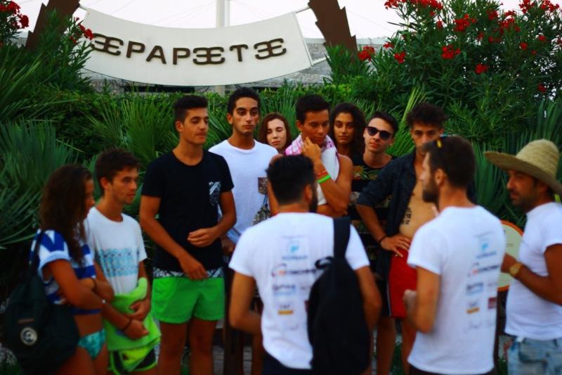 Interviste ai ragazzi del Papete beach
